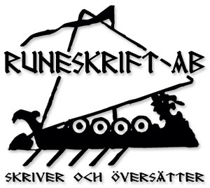 Runeskrift logo